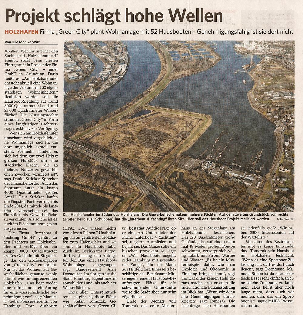 © Bergedorfer Zeitung